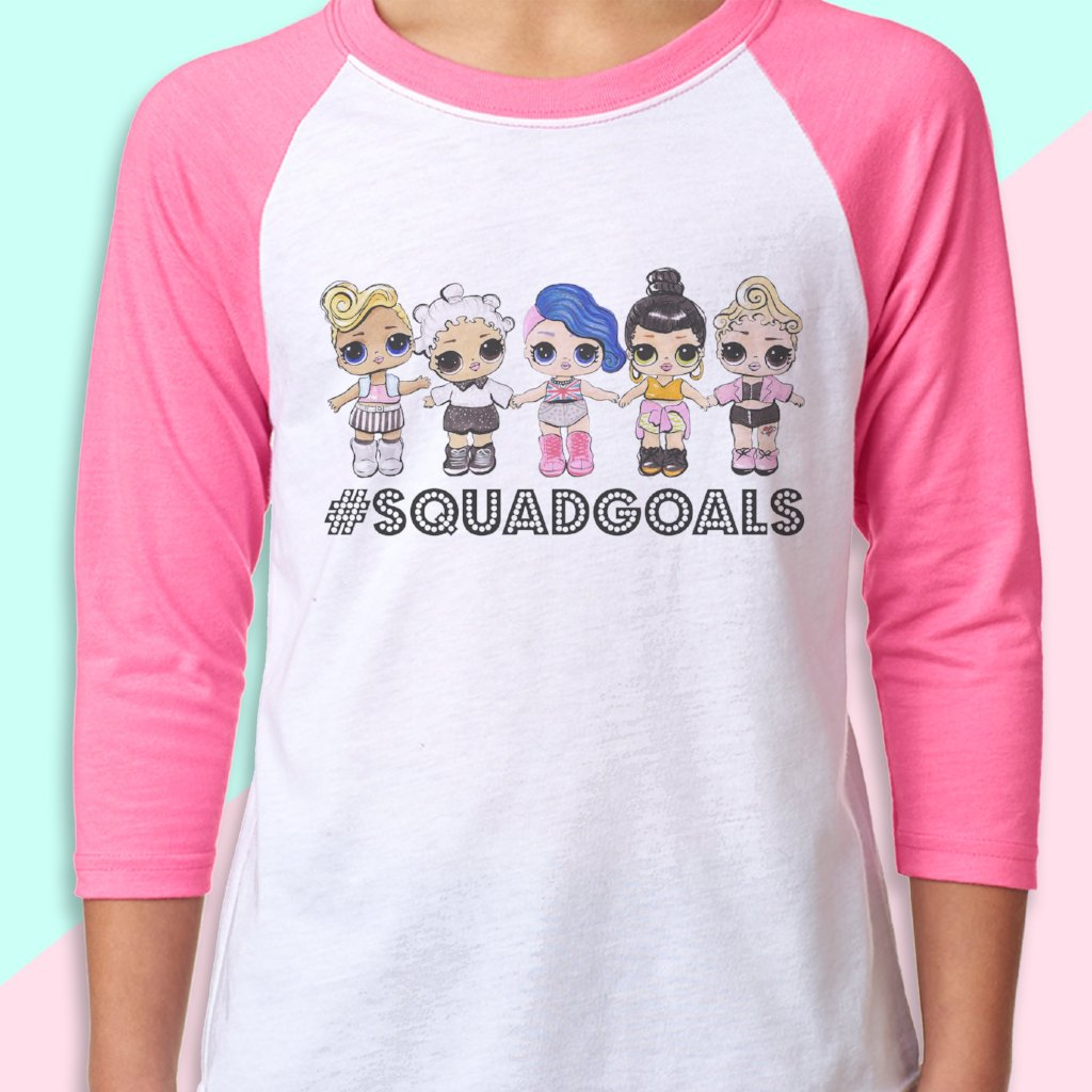 "LOL Surprise Dolls Inspired T-Shirt ""Squadgoals"""
