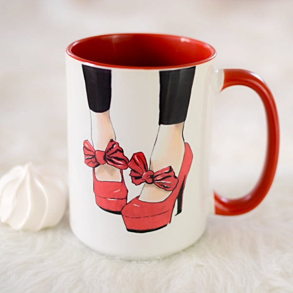 "Fashion Coffee Mug ""Let's Dance"""