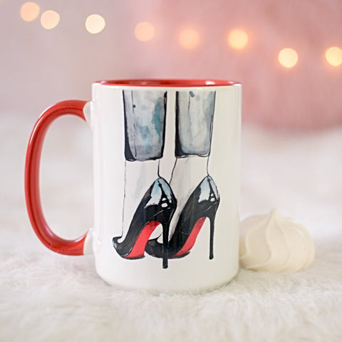 "Fashion Coffee Mug ""Cloudy In Paris"""
