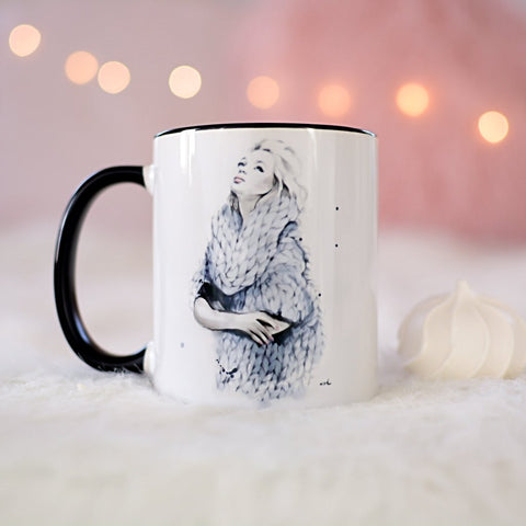 "Fashion Coffee Mug ""Falling For You"""