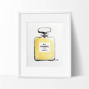 "Fashion Print ""Chanel No5"""