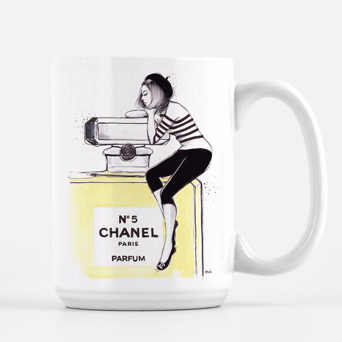 "Chanel Coffee Mug ""Dreaming Of Chanel"""
