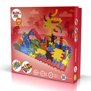 BLOK 4 ZOO - Smart Building Toys for Smart Kids