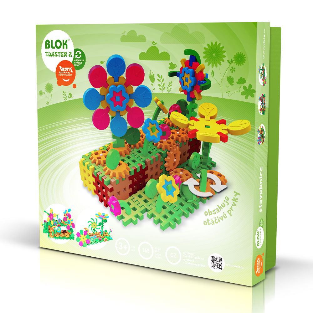 BLOK TWISTER 2 - Smart Building Toys for Smart Kids