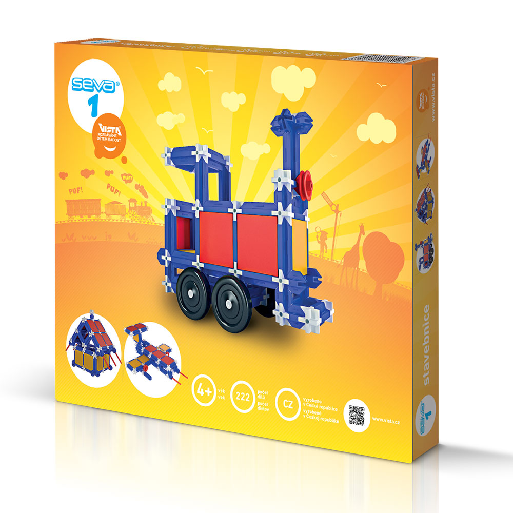 SEVA 1 - Smart Building Toys for Smart Kids