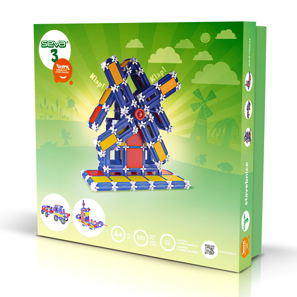 SEVA 3 - Smart Building Toys for Smart Kids