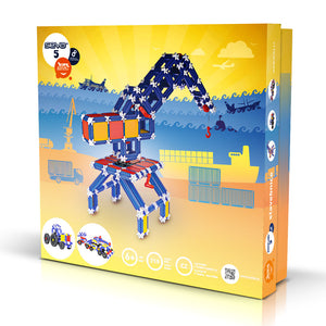 SEVA 5 Elektro - Smart Building Toys for Smart Kids