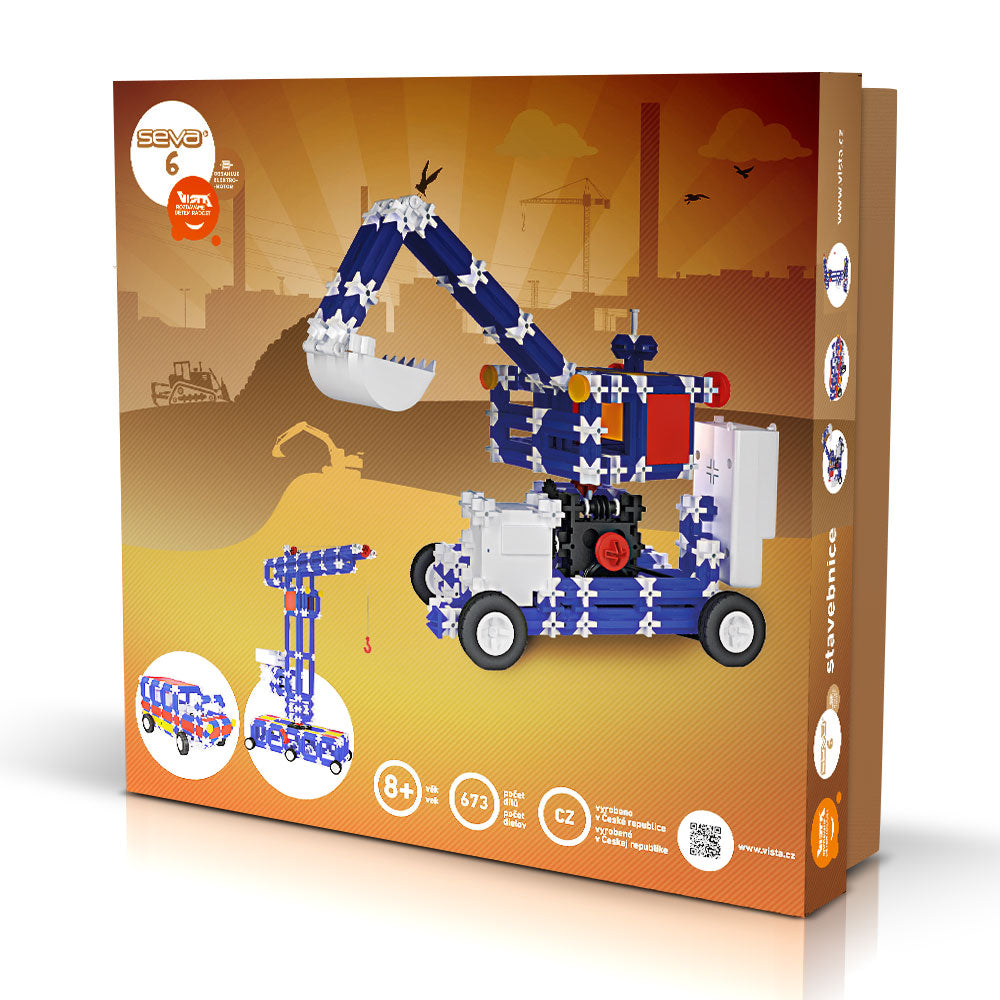 SEVA 6 Technic - Smart Building Toys for Smart Kids