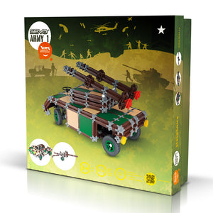 SEVA ARMY 1 - Smart Building Toys for Smart Kids
