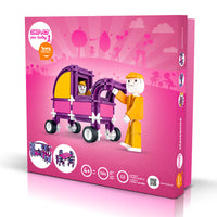 SEVA for GIRLS 1 - Smart Building Toys for Smart Kids