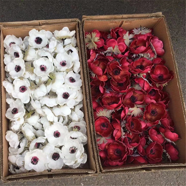 Real touch anemone flowers 24pieces yibo crafts silk anemone flowers for sale mightylinksfo