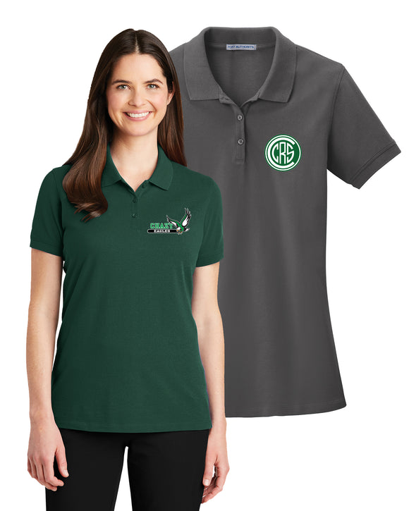 C021 - Ladies' Cotton Polo