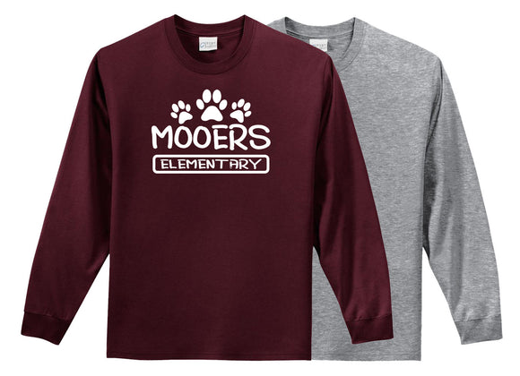 M004 - Adult Long Sleeve T-Shirt