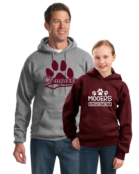 M008 - Adult Hooded Sweatshirt