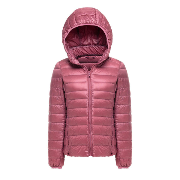 Women's Ultra Light Hooded Down Jacket