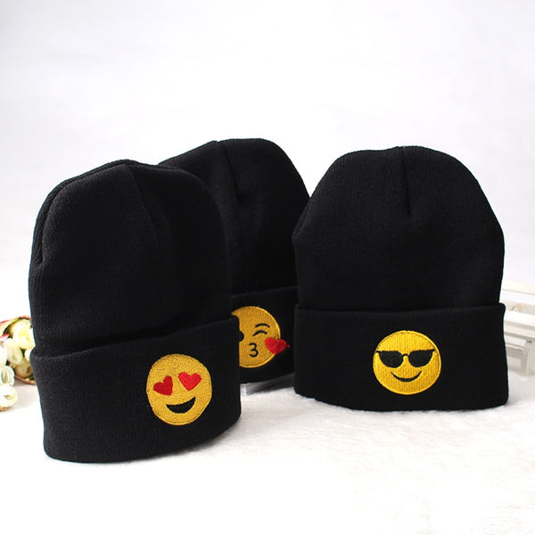 Happy Emoiji Beanies