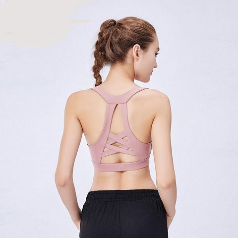 Push Up Racerback Bra