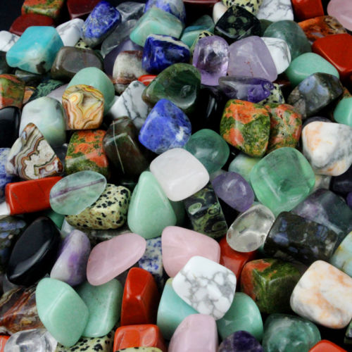 228 g Small Tumbled Gemstones