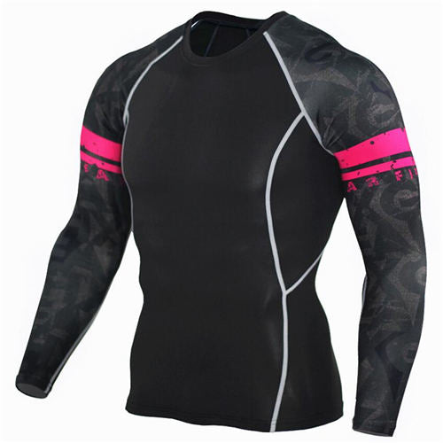 3D Long Sleeve Running Tee