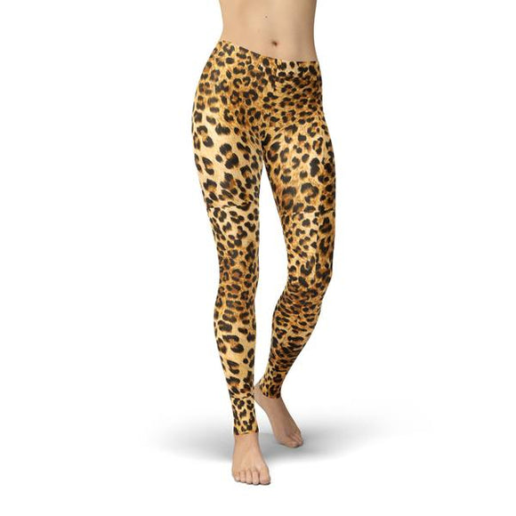 SagaFit™ Leopard Leggings