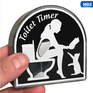 Creative Toilet Timer 5 Minutes Hourglass Female Or Male Design