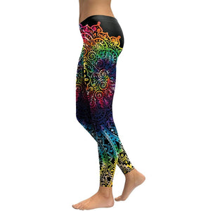 Mandala Gradient Leggings