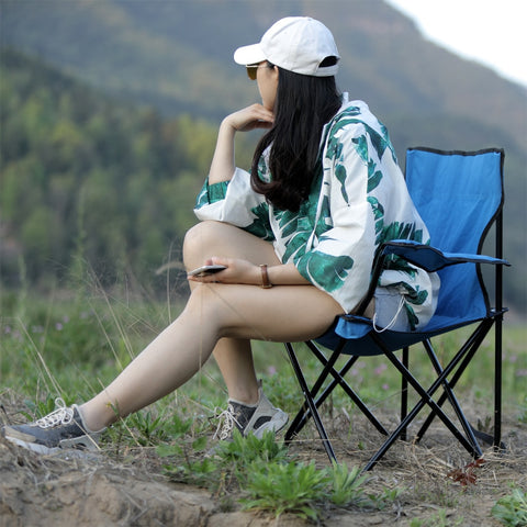 Folding Portable Outdoor Armchair