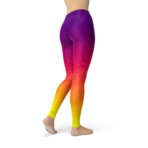 SagaFit™ Sunset Triangles Leggings