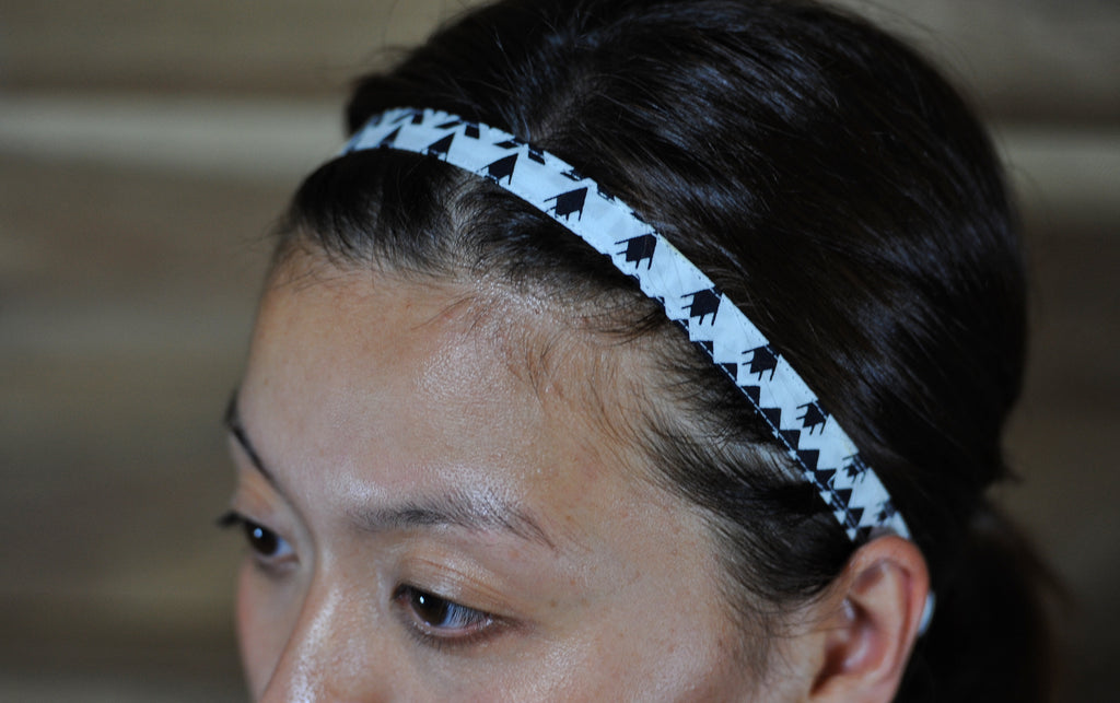 Sisingal (Headband) - Black & White