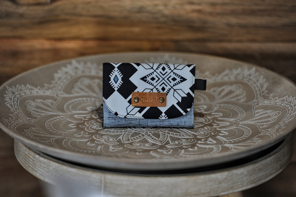 Mini Wallets - Black & White