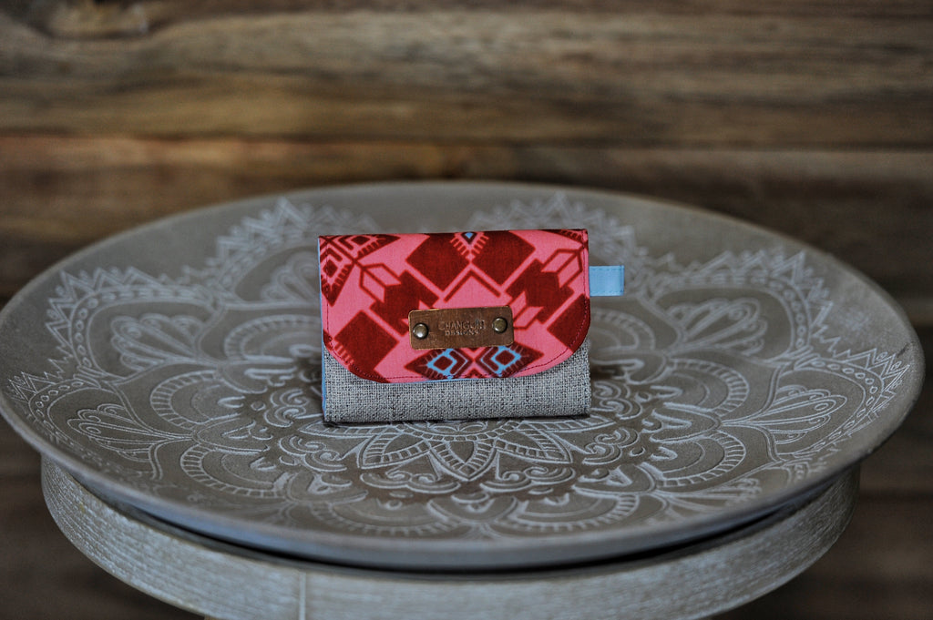 Mini Wallets - Red