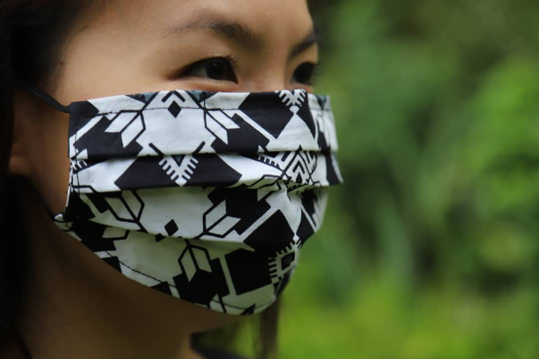 Reusable Face Mask - Black & White
