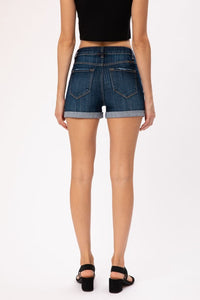 High Rise Hemmed Short