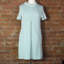 Kristen Jigsaw Eucalyptus  Dress