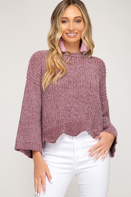 Fran Scallop Sweater