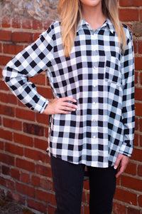 Preppy Gingham Top