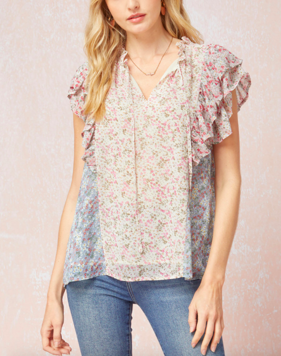 Tiny Flowers Top
