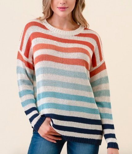 Lines in Time Sweater