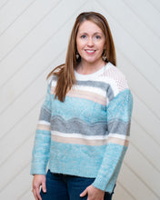Waves of Stripes Sweater