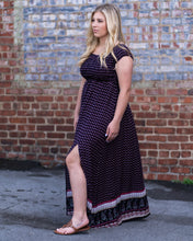 Ditsy Floral Smocked Maxi Dress
