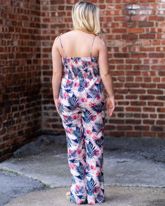 Tropical Palms Jumpsuit