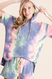 Totally Tie Dye Loungewear Short Set