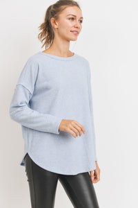 CrissCross Brushed Thermal Top