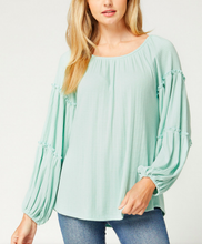 Frill Tiered Top