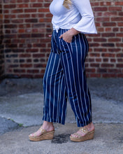 Stripe Wide Leg Pant