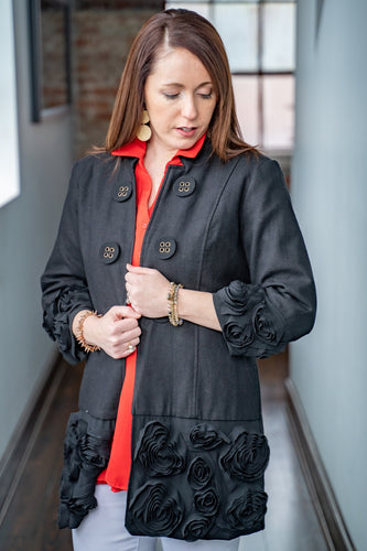 Rosettes in Time Jacket