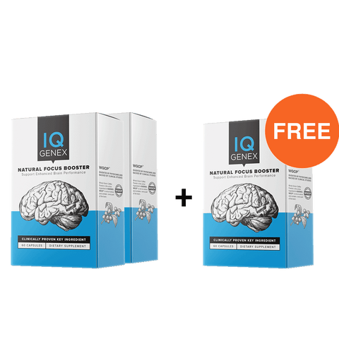 IQGenex - Focus Support Supplement BUY 2 GET 1 FREE