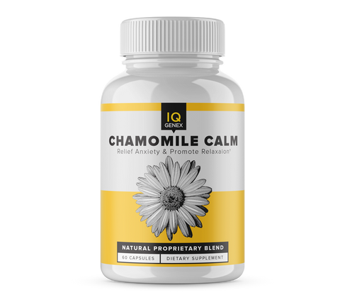 Chamomile Calm - Natural Stress Relief Evaluation Offer
