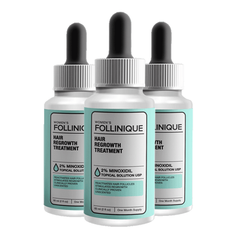 FOLLINIQUE – Women's Hair ReGROWTH Treatment BUY 2 GET 1 FREE
