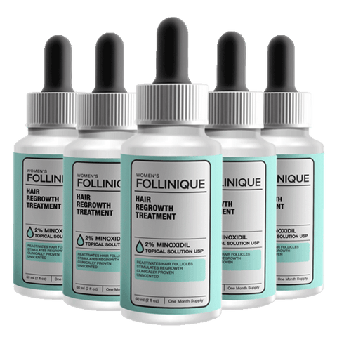 FOLLINIQUE – Women's Hair ReGROWTH Treatment BUY 3 GET 2 FREE